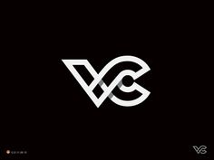 7 vc 2 letter c logo designs for inspiration logos logo Initials Logo, Monogram Logo, Logo Inspiration, Creative Inspiration, Logo Branding, Branding Design, Typographie Logo, Symbol Logo, Photography Logos