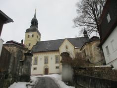 Kostel ve Chřibské - severní Čechy