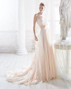 Moda sposa 2018 - Collezione NICOLE.  NIAB18036. Abito da sposa Nicole.