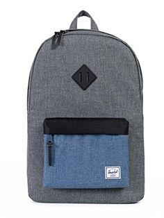 5bcc24867c Gray and Denim Hershel backpack Herschel Heritage Backpack