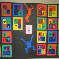 Art Project: Inspired by Artist, Keith Haring