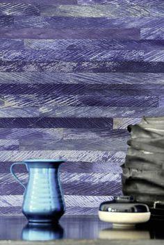 Elitis Wallcovering #blue #purple Mindoro Collections