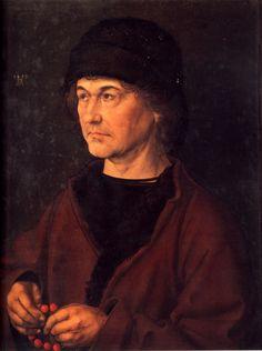 Albrecht Dürer - Portrait of Albrecht Durer the Elder