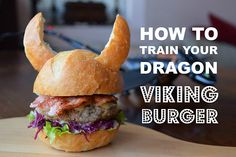 A recipe for fun How to Train Your Dragon inspired Viking Burgers for your little dragon trainers.