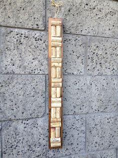 Skinny Wine Cork board by recirclematter on Etsy