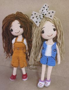 Cute doll crochet ♡