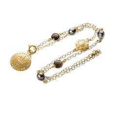 Perlaprincipessa Halskette Eternita Tahiti, Hippie Style, Beaded Bracelets, Necklaces, Gold, Vintage, Jewelry, Fashion, Moda