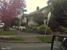 Seward Park Ave S, Seattle WA. on a beautiful spring morning. April 26, 2011.