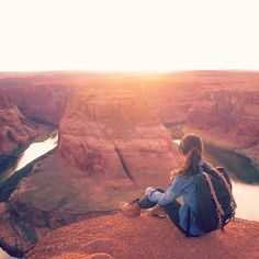 Watch the sun melt over Horseshoe Bend.