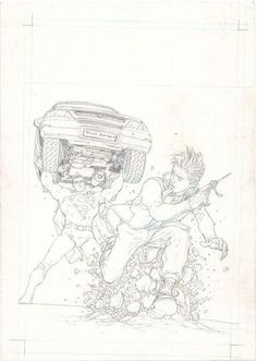 FRANK QUITELY ALL STAR SUPERMAN 4 COVER