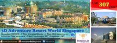Nikmati serunya liburan Anda dengan berpetualang di Universal Studio dan Cove waterpark Resort World Singapore.So tunggu apa lagi?Ayo booking sekarang juga dan dapatkan harga spesial.  Dapatkan Special Paket tersebut dari LiburYuk.com http://liburyuk.com/listpackage/3D+ADVENTURE+RWS+BY+SJ atau kontak team reservasi kami di reservation@Abbey.Travel