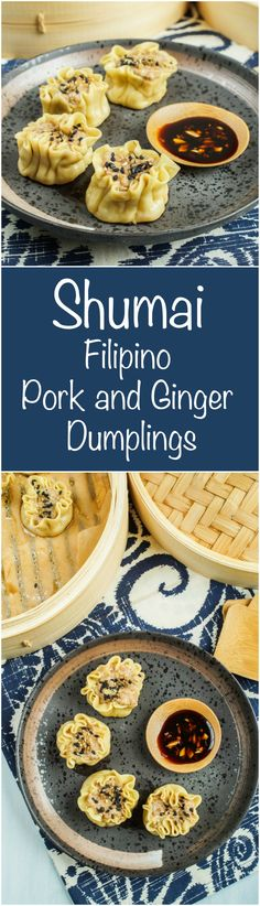 The Filipino-American Kitchen Cookbook Review and Shumai (Filipino Pork and Ginger Dumplings) - Tara's Multicultural Table