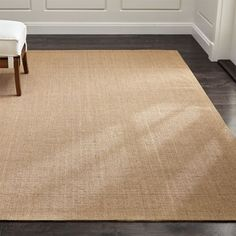 Sale ends soon. Durable and versatile, our sisal rugs are an excellent way to dress up high-traffic living areas. Crafted of natural sisal fiber in a warm almond hue, this beautiful rug has a latex backing to prevent sliding. Brown Carpet, Beige Carpet, Patterned Carpet, Modern Carpet, Yellow Carpet, Wall Carpet, Diy Carpet, Rugs On Carpet, Sisal Carpet