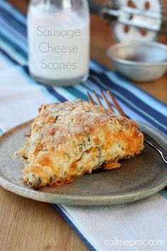 Sausage Cheese Scones