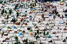 Holiday village near Arkhangelsk, Russia
