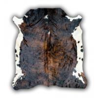 Tapis Peau de vache Normande marron Valdemoro - 190x185c