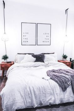 Cheap Apartment Bedroom Design Ideas - P.H - Apartment Decor First Apartment Decorating, Apartment Bedroom Decor, Cheap Apartment, Apartment Living, Bedroom Furniture, Apartment Ideas, Studio Apartment, Apartment Design, Cozy Apartment