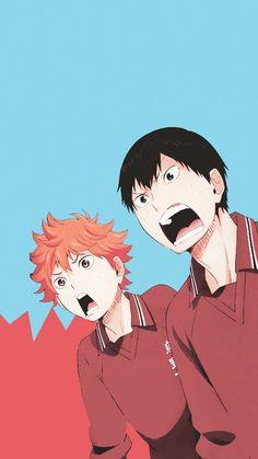Shoyo Hinata and Tobio Kageyama | Waaaahhh | T : Karasuno | Haikyuu!! ✧