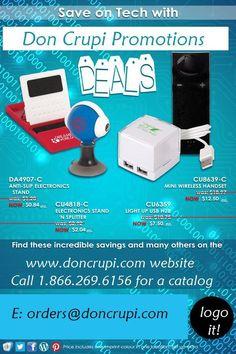 Your Stealth Marketing Specialist www.doncrupi.com Toll Free:1.866.269.6156 orders@doncrupi.com