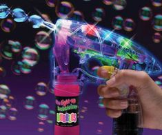 UV Light Bubble Gun