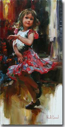 Original Painting, Promise by Michael & Inessa Garmash