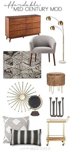 Mid-century modern lamps that will brighten up your mid-century modern home decor