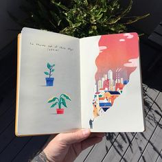 There's something very satisfying about putting these coloured up sketchbooks together! Sorry if I'm posting them too much ☀️ Happy Monday, hope you have a fantastic week . Kunstjournal Inspiration, Sketchbook Inspiration, Sketchbook Ideas, Art Sketches, Art Drawings, Posca Art, Creation Art, Arte Sketchbook, Guache