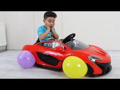 Yusuf's Cordless Car and Balloon Wheels Islam, Balloons, Wheels, Entertainment, Vehicles, Car, Youtube, Automobile, Cars