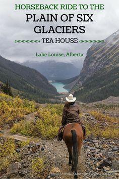 travelyesplease.com | Horseback Ride to the Plain of Six Glaciers Tea House- Lake Louise, Alberta (BLOG POST) | Lake Louise, Canada