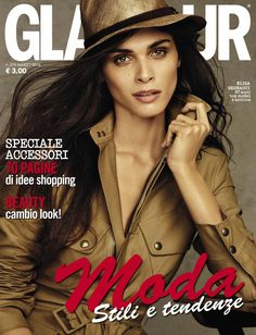 Elisa Sednaoui for Glamour Italia March 2015 by Alvaro Beamud Cortés