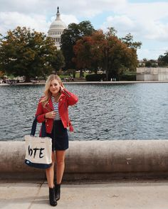 "I can't believe this will be the 3rd election I will be able to vote! While I was in Washington DC I visited the exhibit ""The American Presidency: A Glorious Burden"" at the Smithsonian. I learned so much about what it truly means to be the President and made me so empowered to know I have a part in helping elect this representative for our country. Join @TOMS x @Refinery29 & I to VOTE this fall. Get out to the polls November 8th #TOMS #ad"