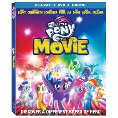 Lionsgate Home Entertainment has announced the home release info (Blu-Ray/DVD) for My Little Pony: The Movie! The movie hits store shelves next week! Hero's Journey, Emily Blunt, Family Movies, New Movies, Pony 2, Lionsgate Movies, Tara Strong, My Little Pony Movie, Imagenes My Little Pony