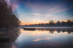 Rivermorning by Bernie Lamberz on 500px