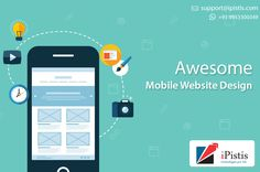 iPistis Technologies Pvt. Ltd. is the Best #Web_Designing_Services Provider in Delhi, which provides you the best and unique interface for your web and mobile.
