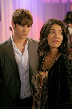 "Chace Crawford as Nate Archibald and Jessica Szohr as Vanessa Abrams ""Woman on the Verge"""