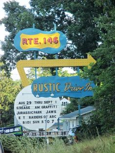 New England Bites: Rustic Tri Vue Drive-In in Rhode Island!