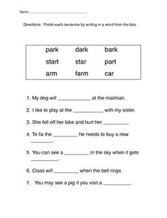 Printables Third Grade Phonics Worksheets phonics worksheets words and on pinterest free abeka printables worksheet ar sound mrs d