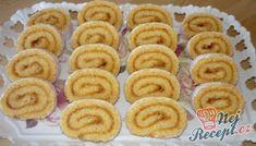 Roláda s domácí marmeládou | NejRecept.cz Onion Rings, Kefir, Cookies, Ethnic Recipes, Food, Crack Crackers, Biscuits, Essen, Meals