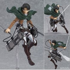 (28.29$)  Buy here - http://ai122.worlditems.win/all/product.php?id=32461653254 - 14cm anime attack on Titan legion Scouting shingeki no Kyojin Levi Figma 213 PVC action Figure Model Collection Toy Gift Eren