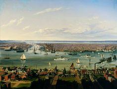 Hubert Sattler, New York, 1854