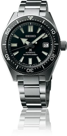 Seiko's first ever diver's watch is re-born in Prospex. Best Sports Watch, Buy Boxes, Seiko Diver, Popular Sports, Automatic Watches For Men, For Sale Sign, Seiko Watches, Baselworld 2017, Sport Watches