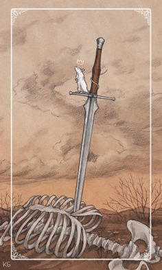 The Ace of Swords - Ostara Tarot