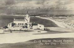 PALOS VERDES:  Old Palos Verdes postcard.