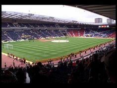Scottish Cup semi-final from Hampden Park