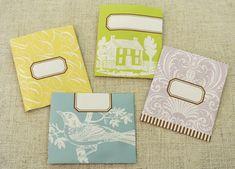 Tea Bag Packets - free printable