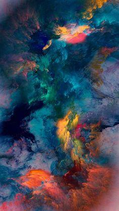 Colour Storm Wallpaper