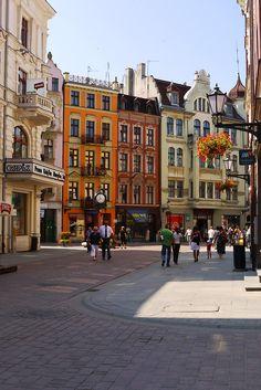 Toruń, Poland (via hitchhikershandbook).