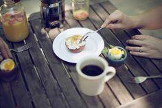 Simple Summer Breakfast Kinfolk #breakfast