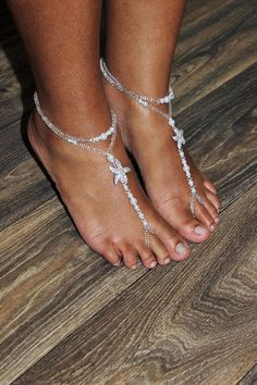 Image result for foot jewelry barefoot sandals foot jewelry beach