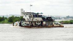 Entre Brazzaville et Kinshasa, course d'obstacles sur le fleuve Congo